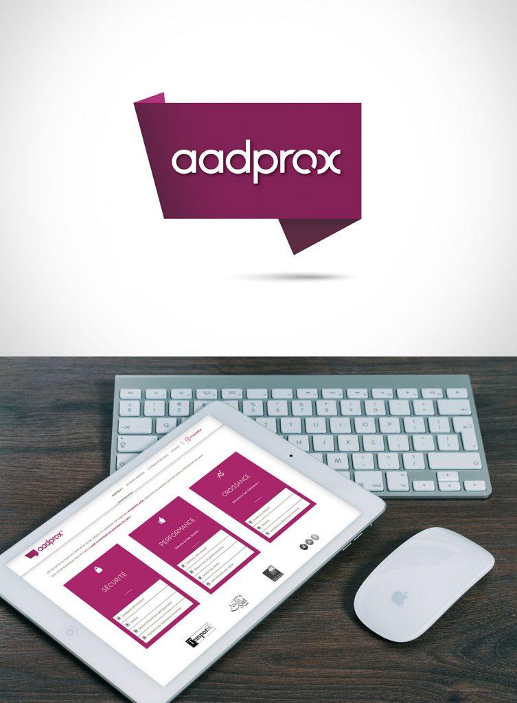 Création de site web personnalisé Aadprox
