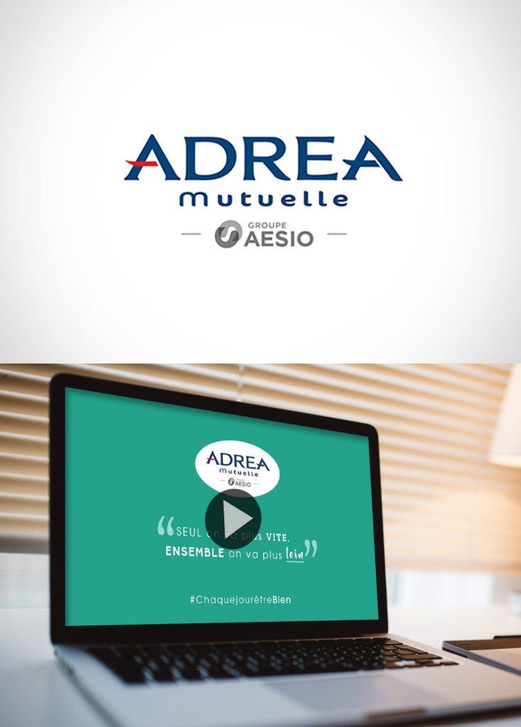 Création vidéo d'entreprise Adréa Mutuelle