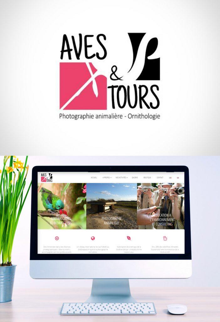 Création site internet vitrine et webdesign Aves