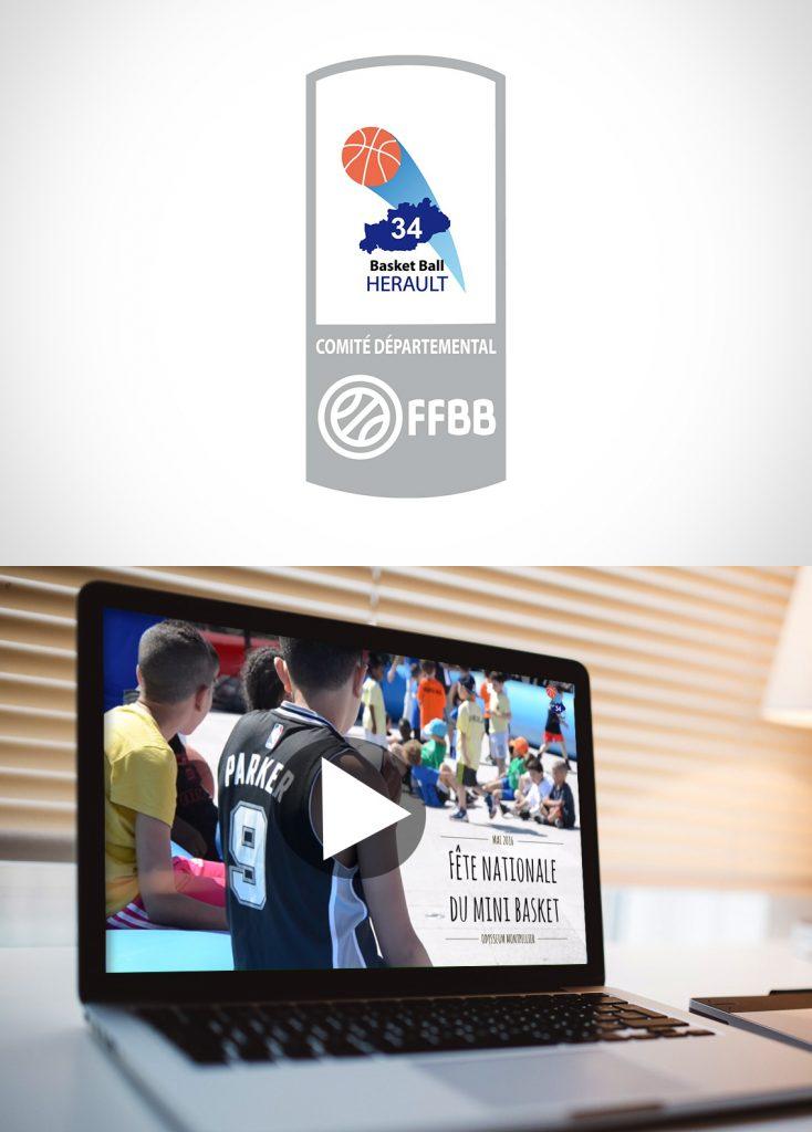 Vidéo reportage comité Hérault basket