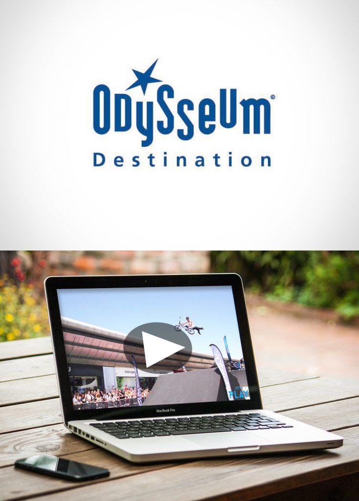 Film reportage Centre commercial Odysseum montpellier