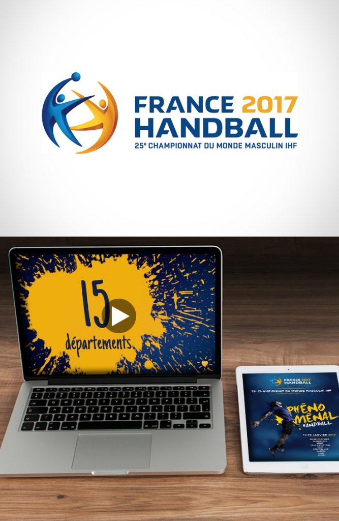 Vidéo championnat du monde Handball