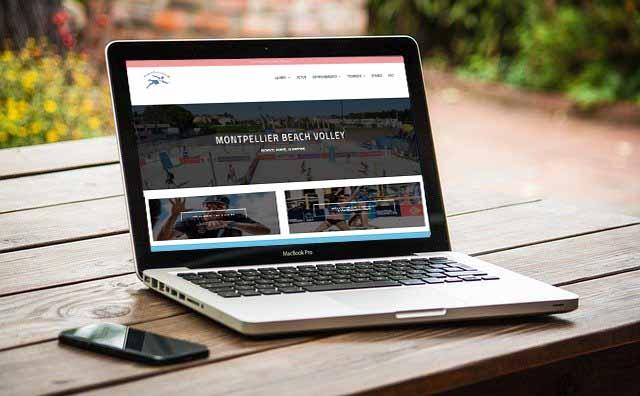 création site web club de sport par notre agence web à Montpellier