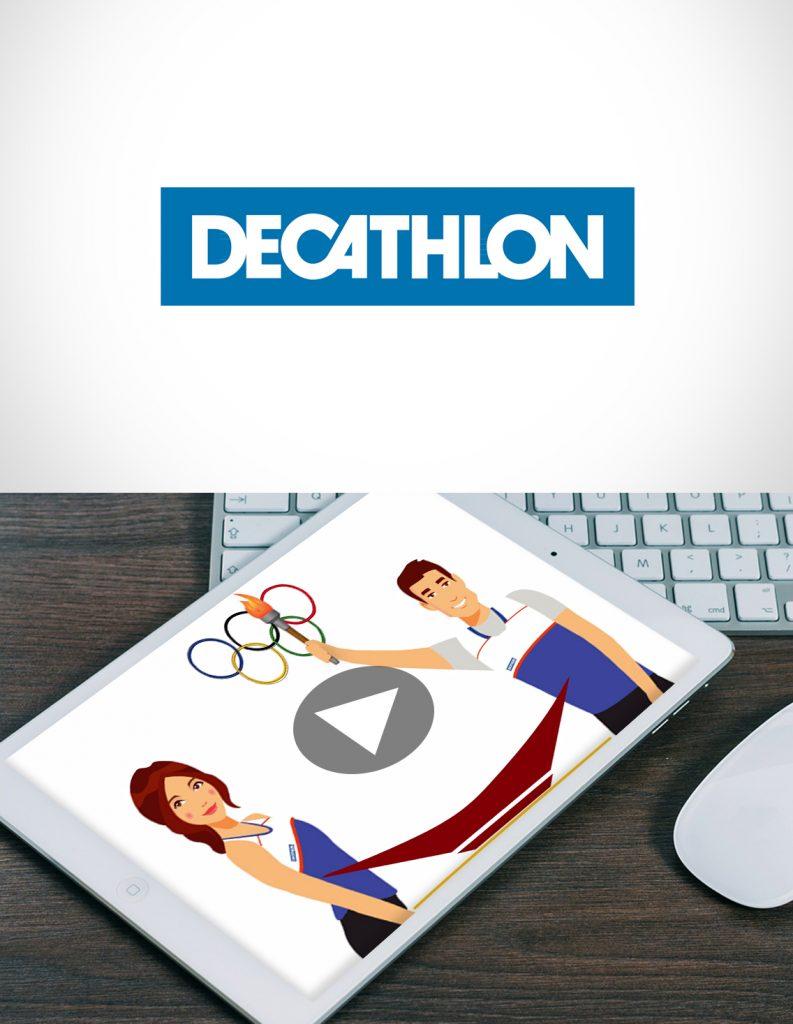 Réalisation vidéo motion design Décathlon Montpellier