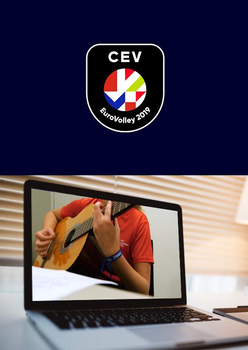 Réalisation de la vidéo Euro Volley à montpellier