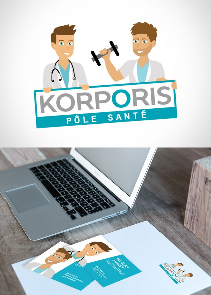 Logo et site internet Korporis