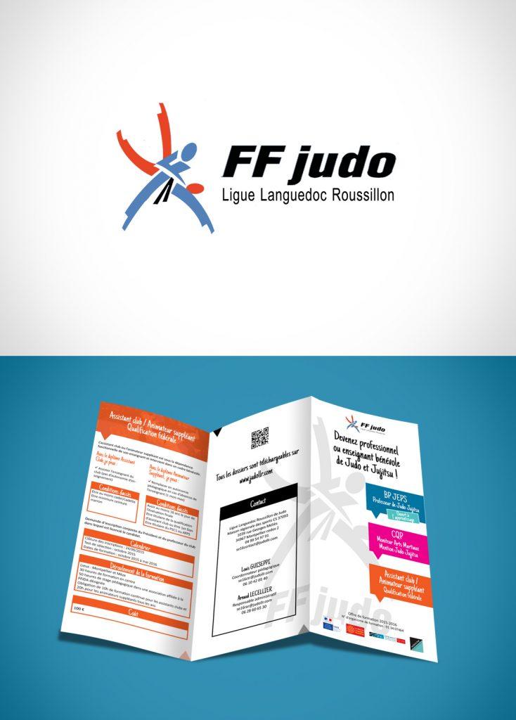 Création graphique Ligue Languedoc Roussillon