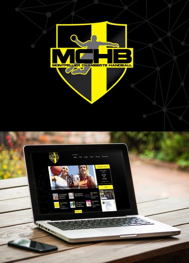Création de site internet personnalisé Montpellier Handball