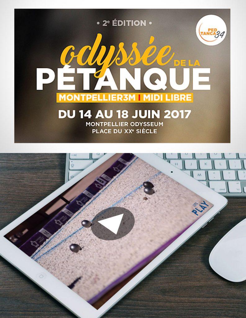 Reportage événementiel Odyssée Pétanque