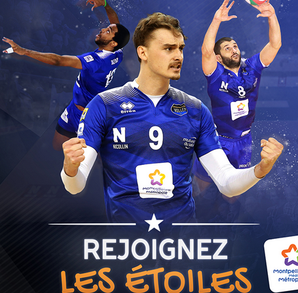 Montpellier Volley – Saison 2017/2018
