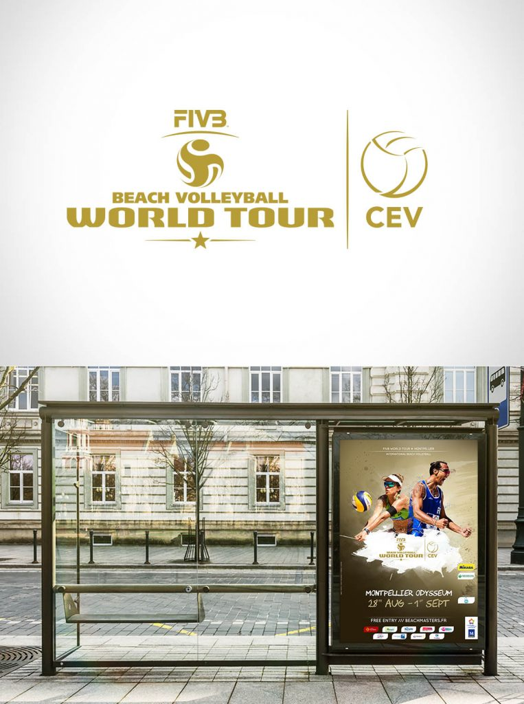 Affichage Beach Volley World Tour