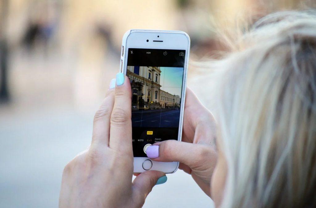prendre photo pour réseaux sociaux